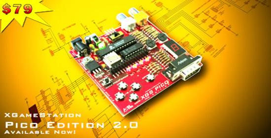 XGameStation Pico Edition Kit 2.0