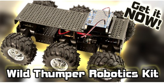 Wild Thumper Robotics Kit