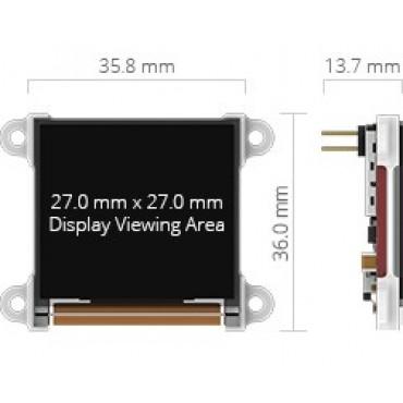 Display µOLED 128 G2
