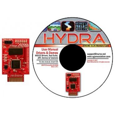 HYDRA™ XTREME 512K SRAM Card