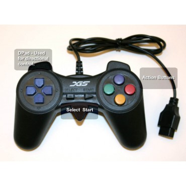 XGS™ Game Controller