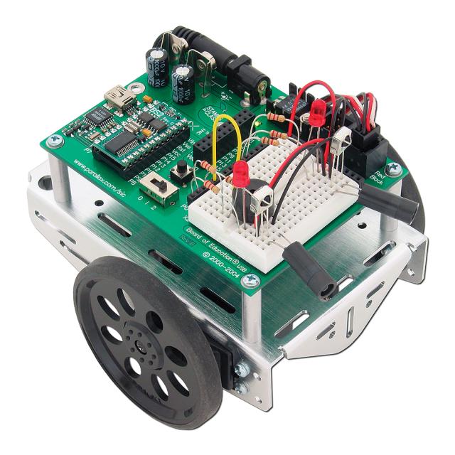 Boe Bot Robot Kit Usb