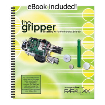 Gripper Kit for the Boe-Bot Robot