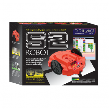 Scribbler 2 Robot (Includes USB Adapter & Cable)