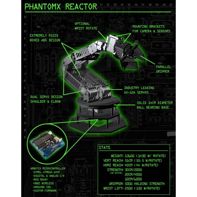 PhantomX Reactor Robot Arm Kit