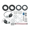 Motor Mount & Wheel Kit - Aluminum