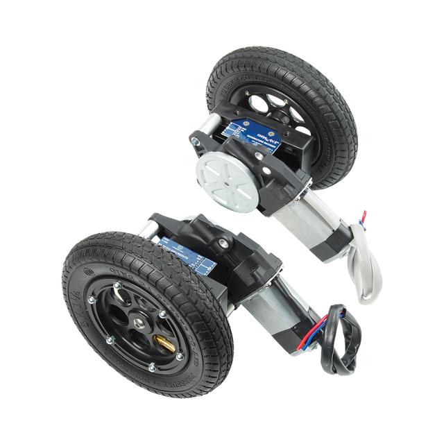 Motor Mount Amp Wheel Kit Molded Plastic