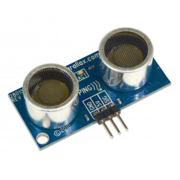 PING))) Ultrasonic Distance Sensor