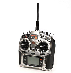 DX8 DSMX Transmitter Only MD2 by Spektrum