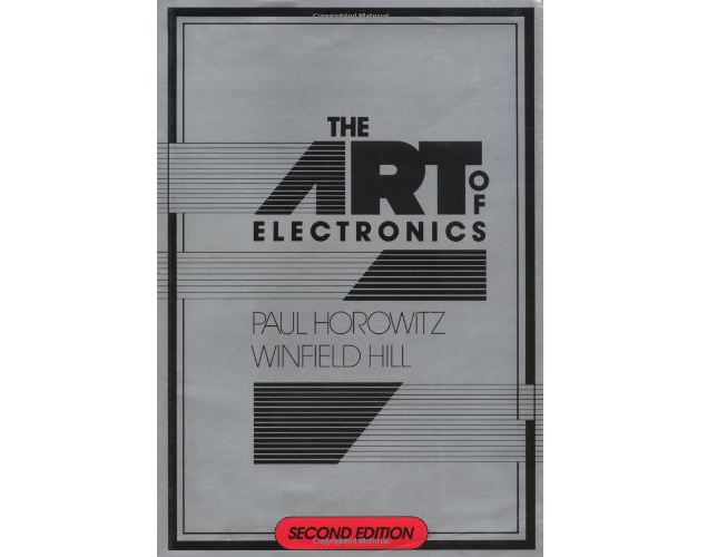 The Art of electronics - The Front Cover.