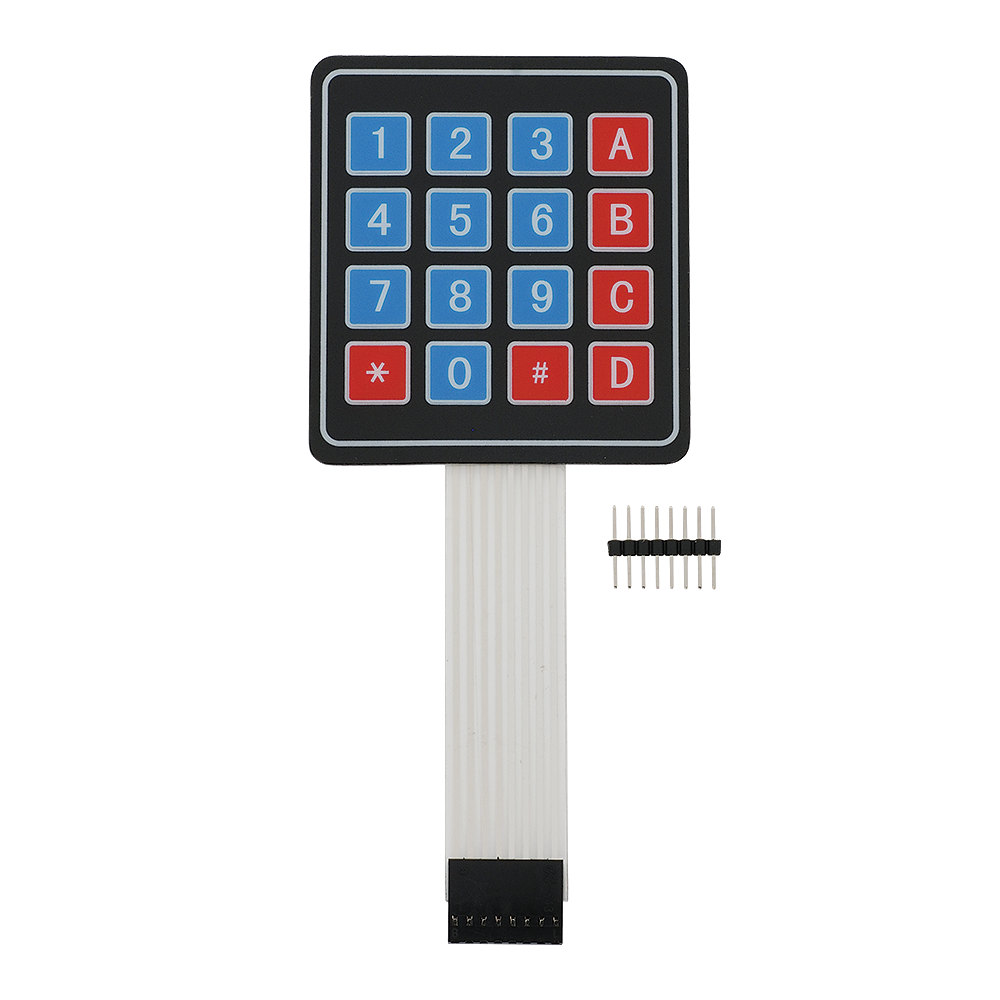4x4 Matrix Membrane Keypad.