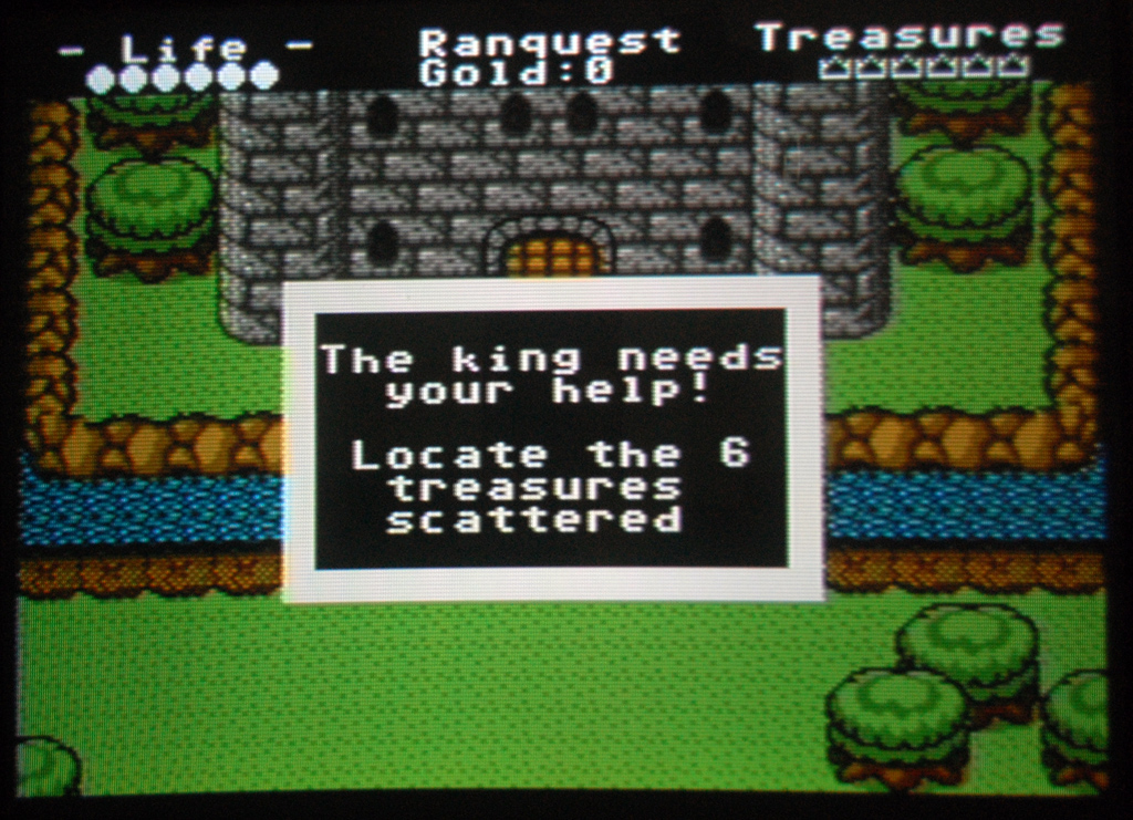 Ranquest Arcade Adventure Game by Jay T. Cook.