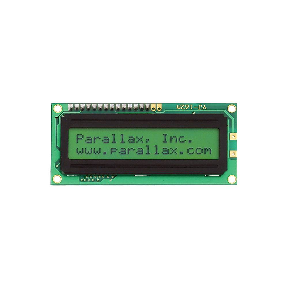 Parallax Parallel Display 2x16.