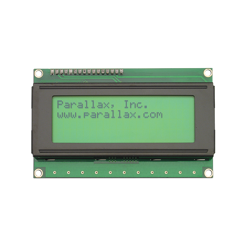 Parallax Display 4x20 Backlit.