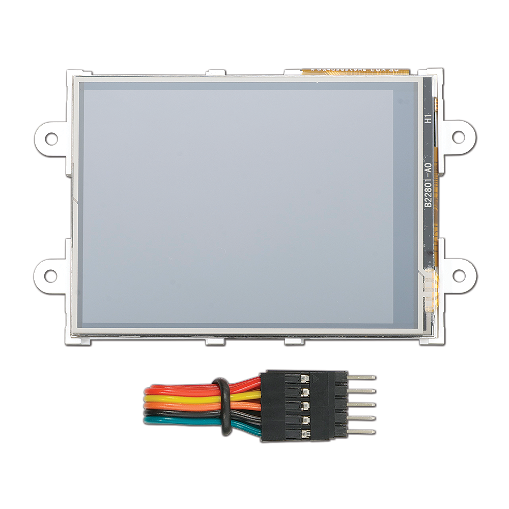 2.8 inches microLCD PICASO Display.