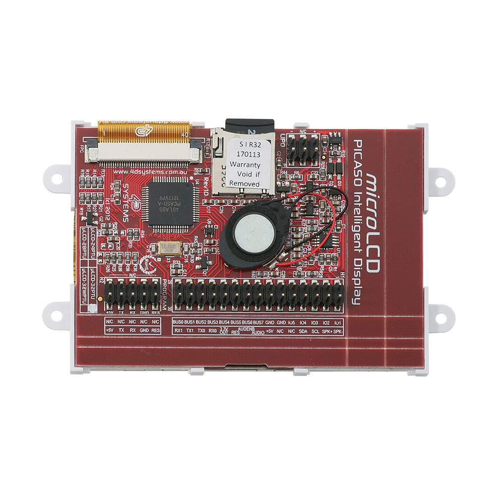 3.2 inches microLCD PICASO Display Board Driver.