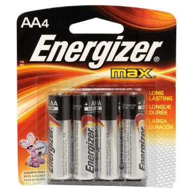 Alkaline AA batteries