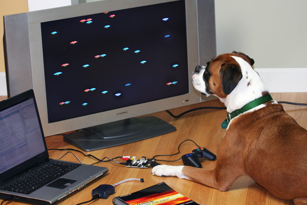 Even pets love the XGS Controller!