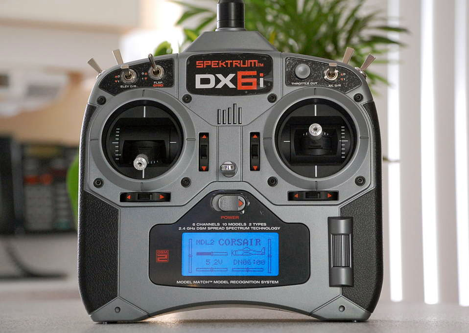 DX6i DSMX 6 Channel Full Range MD2 (Servos not Included)