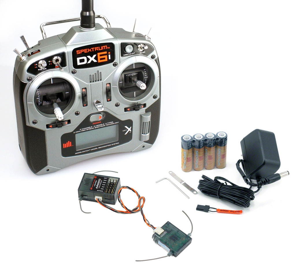 DX6i DSMX 6 Channel Full Range MD2 (Servos Not Included
