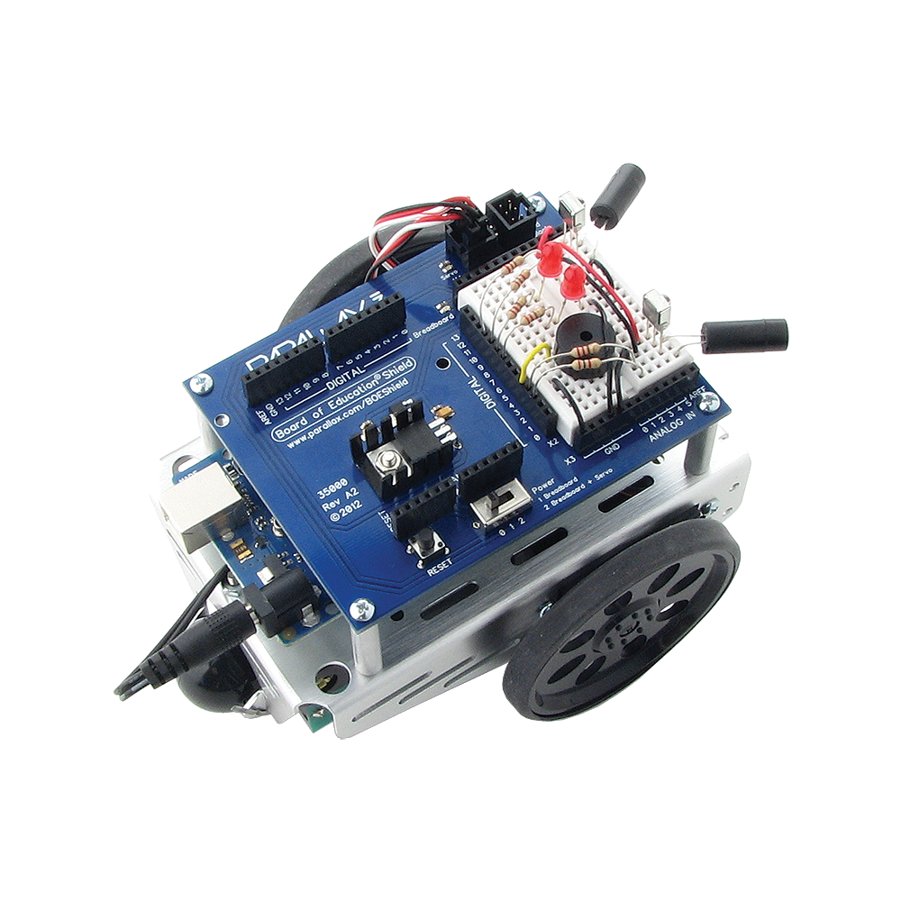 ActivityBot Robot Kit Top View.