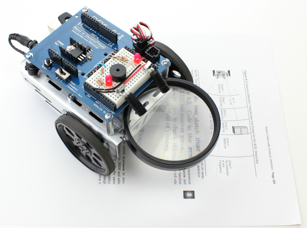 ActivityBot Robot Kit With Magnifier.