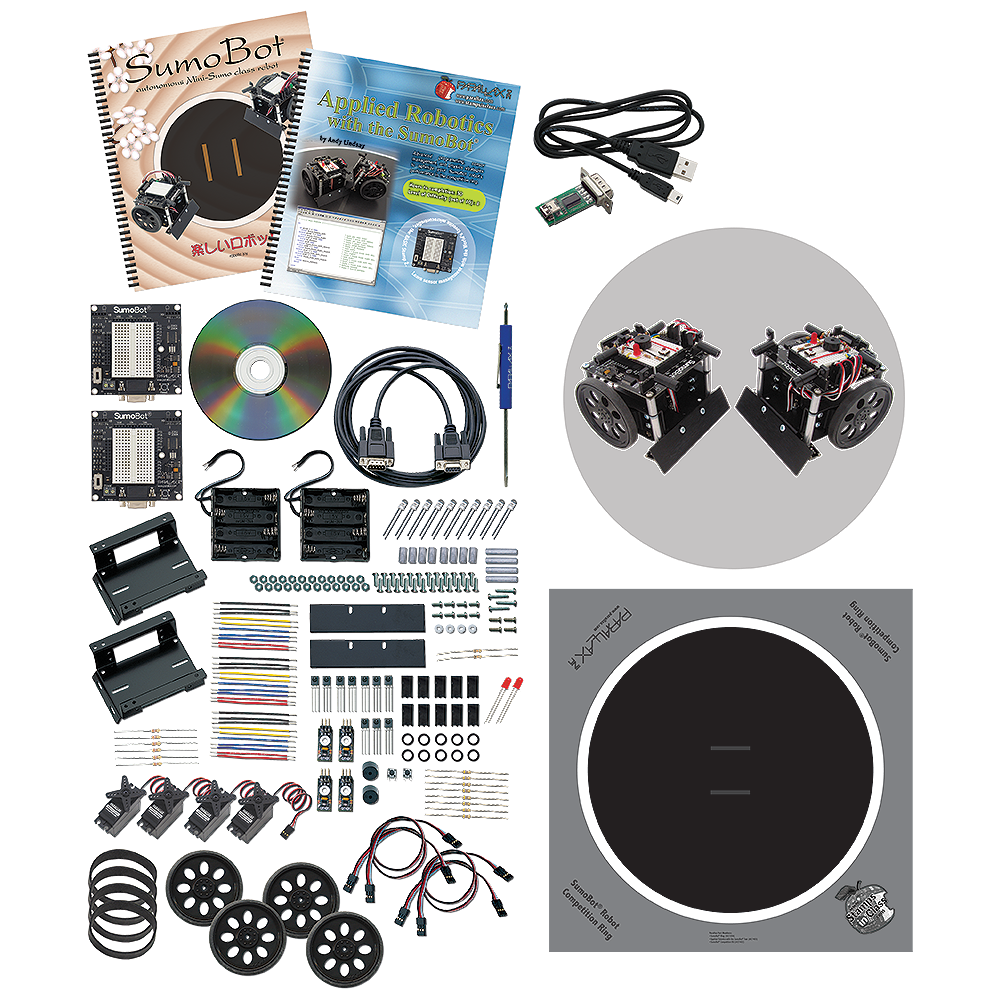 Parallax Sumo Robots Competition Kit.