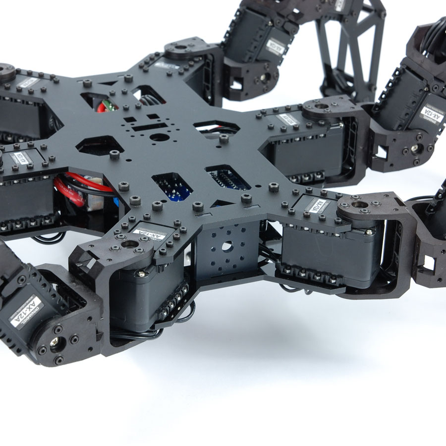 PhantomX AX Hexapod Mark II - Body close up.