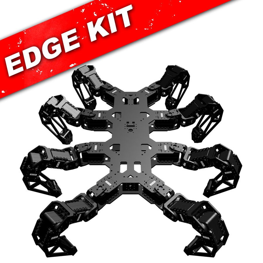 PhantomX Octopod Edge Kit - Top view.
