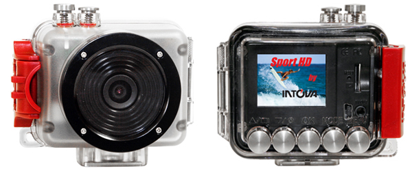 Intova Sport HD Camera - Composite view.