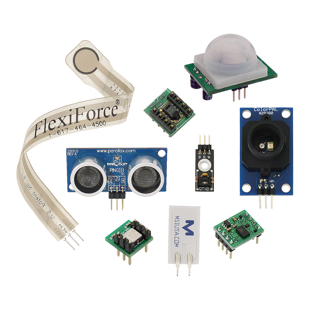 Sensors pack overview.