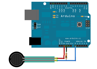 Flexi Force Sensor And Arduino.